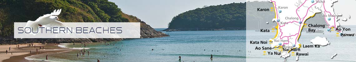beach front properties for holiday long term rent in southern phuket