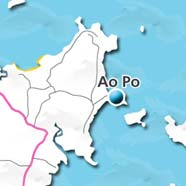where to stay phuket map - villas and apartments for holiday or long term rent phuket - Ao Po