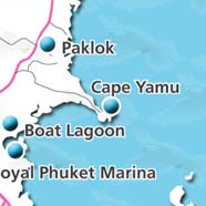 where to stay phuket map - villas and apartments for holiday or long term rent phuket - cape yamu