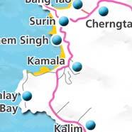 where to stay phuket map - villas and apartments for holiday or long term rent phuket - kamala