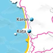 where to stay phuket map - villas and apartments for holiday or long term rent phuket - Karon