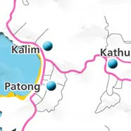 where to stay phuket map - villas and apartments for holiday or long term rent phuket - kathu