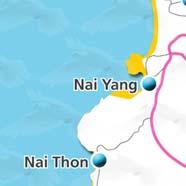 where to stay phuket map - villas and apartments for holiday or long term rent phuket - Nai Yang