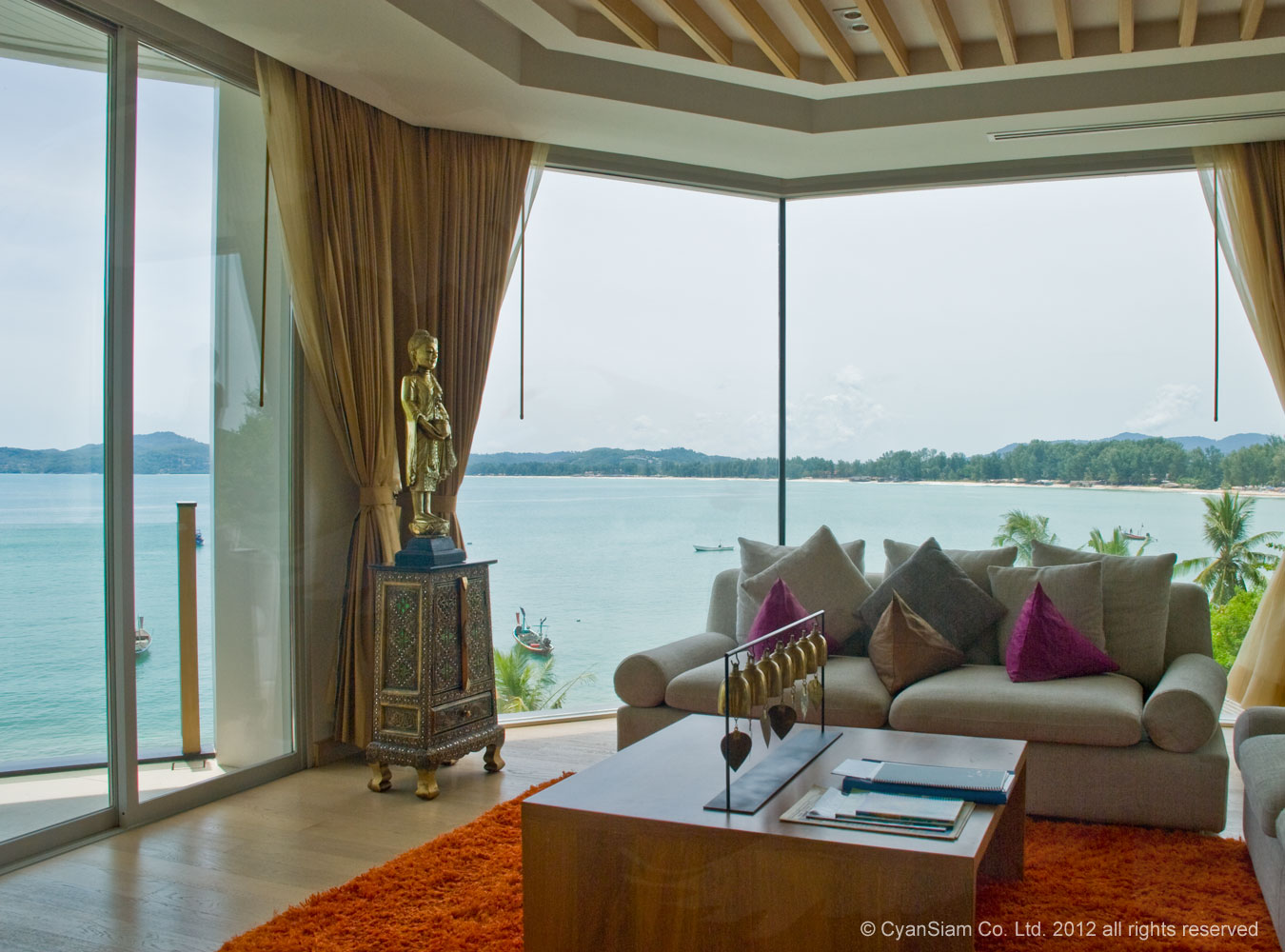 konos penthouse bang tao phuket   phuket holiday villa rentals