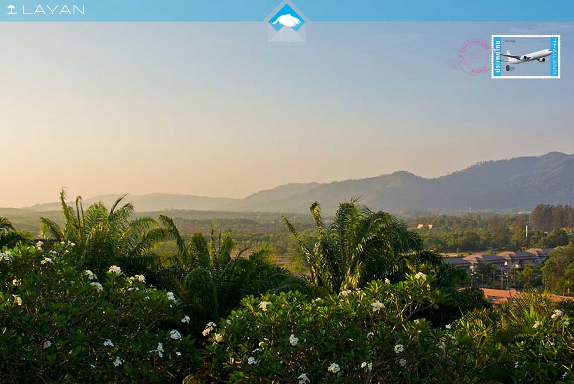 sunrise over village layan holiday villas
