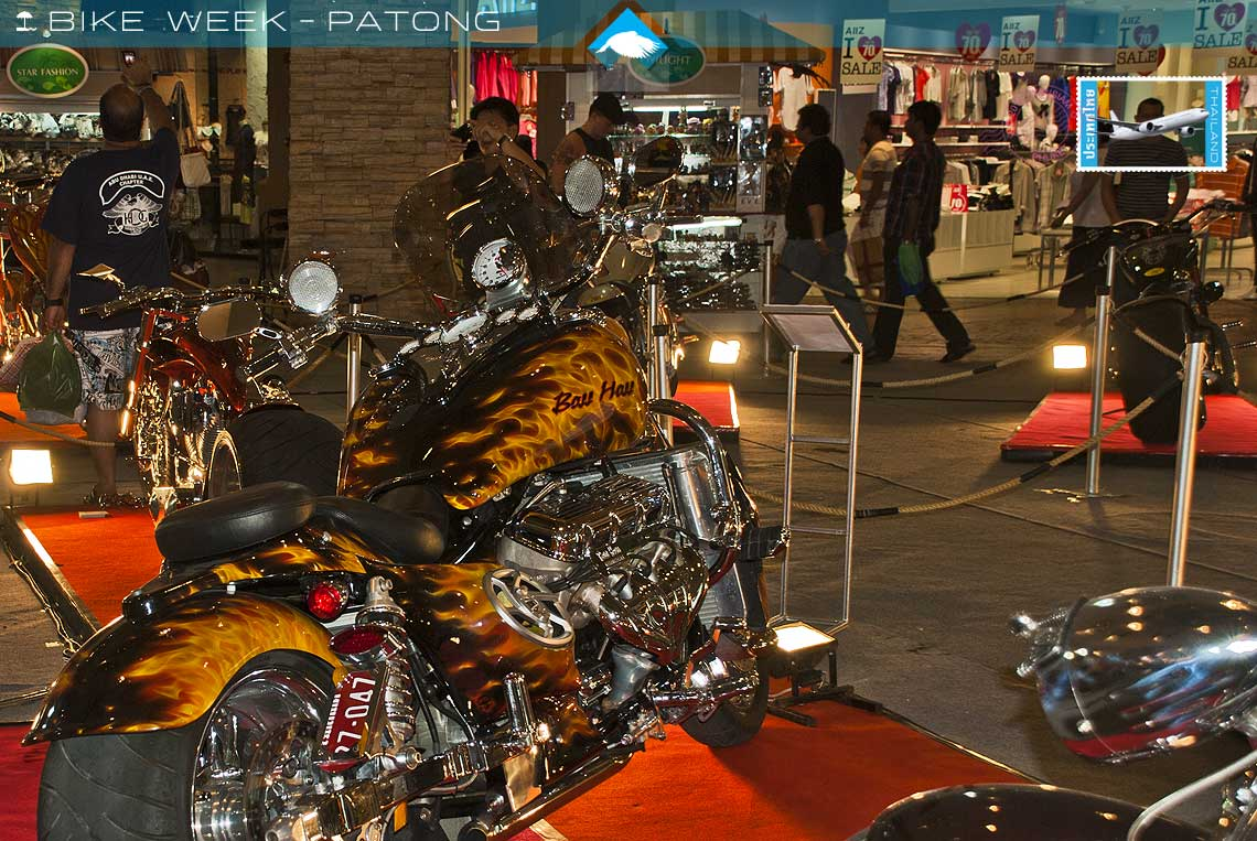 phuket custom bike show and bike week exhibits patong holiday villas