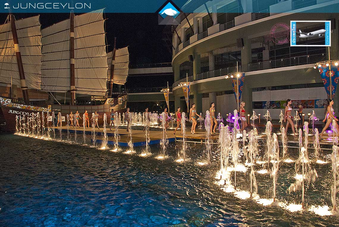 fashion show at jungceylon patong holiday villas